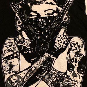 Tops - Marilyn Monroe Women's Gangster Tee